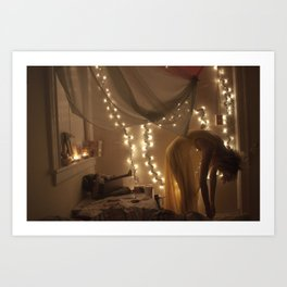 my bedroom is filled with love Art Print