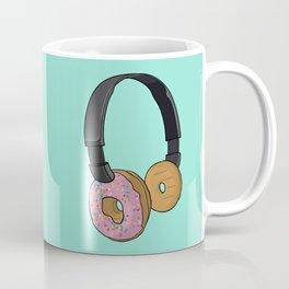 Donut Headphones Coffee Mug