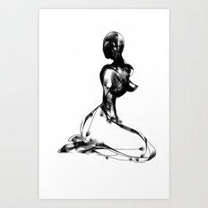 nozzle Art Print