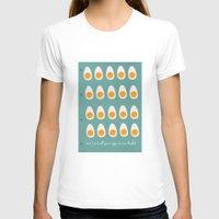 eggs T-shirts featuring eggs by Michela Buttignol