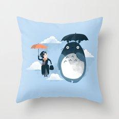 The Perfect Neighbor Throw Pillow