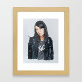 """K flay"" Framed Art Print"