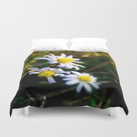 lions Duvet Covers featuring Small lions by Emilia