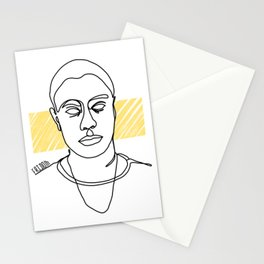 rocking the bling Stationery Cards