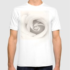 spiral Mens Fitted Tee White MEDIUM