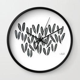 Seagrass Wall Clock