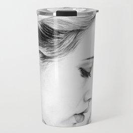 Bea Miller Pencil Sketch Travel Mug