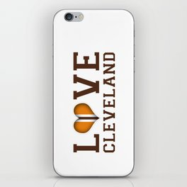 LUV Cleveland iPhone Skin