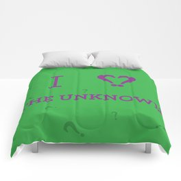 I heart The Unknown Comforters