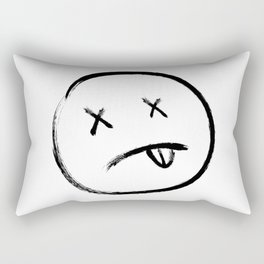 Dead eyes Black Rectangular Pillow