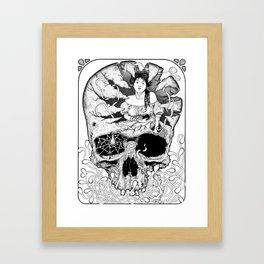La petite mort Framed Art Print
