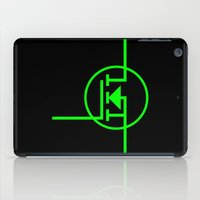 transistor iPad Cases featuring N-TYPE MOSFET by EEShirts