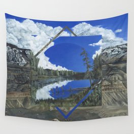 Grand Mesa Polyscape Wall Tapestry