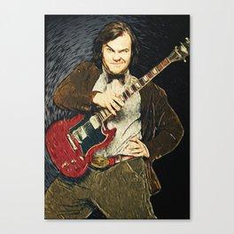Jack Black Canvas Print