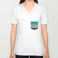 country V-neck T-shirts featuring country by spinL