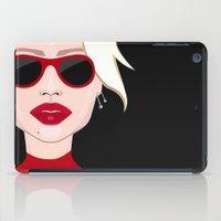 blondie iPad Cases featuring Blondie by VictoriaPodi