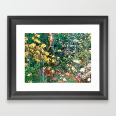 Garden #4 Framed Art Print