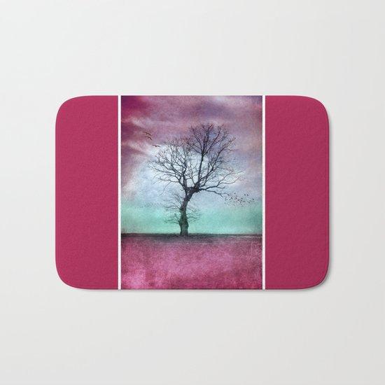 ATMOSPHERIC TREE - Winter Sun Bath Mat
