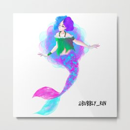 Mermaid (Original Character) Metal Print