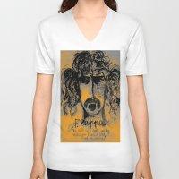 zappa V-neck T-shirts featuring Zappa by sladja
