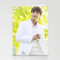 exo Stationery Cards featuring EXO Kai by TheRmickey