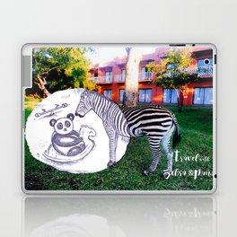 Travel with Zebra and Panda Laptop & iPad Skin