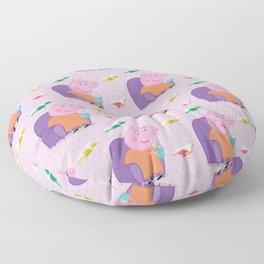 Peppa Pg Pattern 05 Floor Pillow