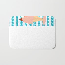 You, me and ice cream Bath Mat