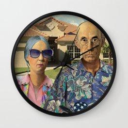 Florida Invasives Wall Clock