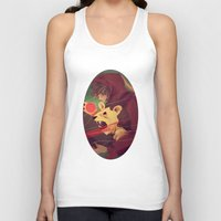 courage Tank Tops featuring Courage by James M. Fenner