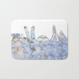 Abu Dhabi Skyline Bath Mat