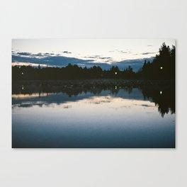 Hidden Pond Canvas Print