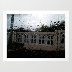 Raining at the Basilica of Higuey, Santo Domingo, DR Art Print