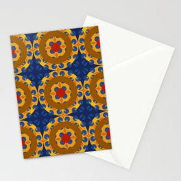 Skookum - Colorful Decorative Abstract Art Pattern Stationery Cards