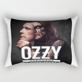 no more tour 2 ozzy 1osbourne Rectangular Pillow