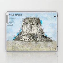 Devils Tower Laptop & iPad Skin