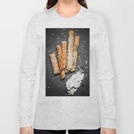 Breadsticks art #food #stilllife Long Sleeve T-shirt