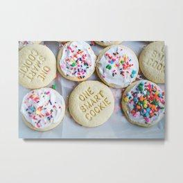 Smart Cookie Metal Print