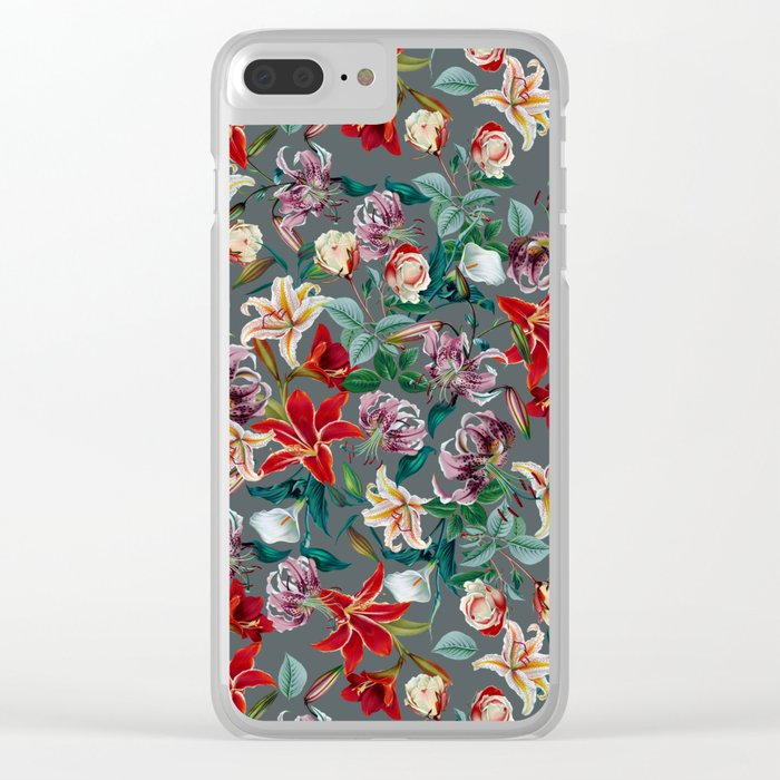 EXOTIC GARDEN VIII Clear iPhone Case