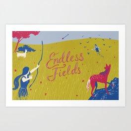 Graft - Endless Fields Art Print