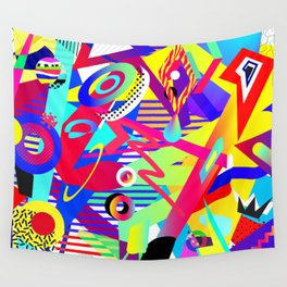 Bomb of Color Wall Tapestry