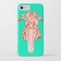 cafe racer iPhone & iPod Cases featuring Cafe Racer front view by Paul McCreery