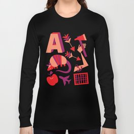 A is for... Long Sleeve T-shirt
