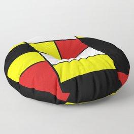 Abstract #378 Mondriaan Floor Pillow