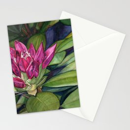 Rhododendron Bud Stationery Cards