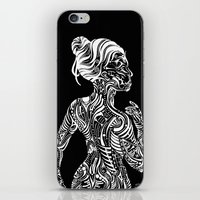 maori iPhone & iPod Skins featuring Opposite Maori by SarinneG