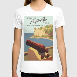 Vintage poster - Puerto Rico T-shirt