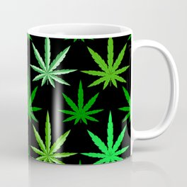 Marijuana Green Weed Coffee Mug