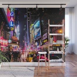 New York City Night Wall Mural