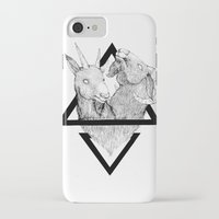 twins iPhone & iPod Cases featuring TWINS by lolklos